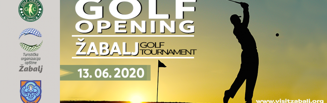 Žabalj Golf Tournament 2020