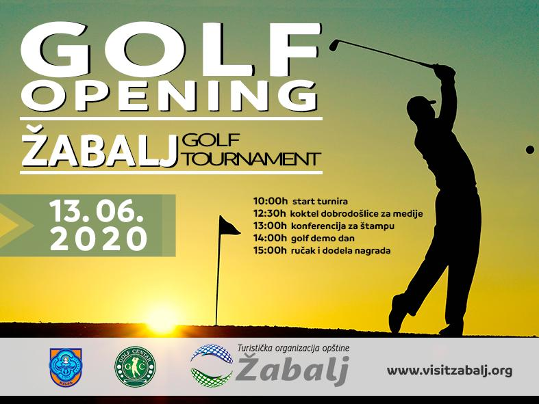 Žabalj Golf Tournament